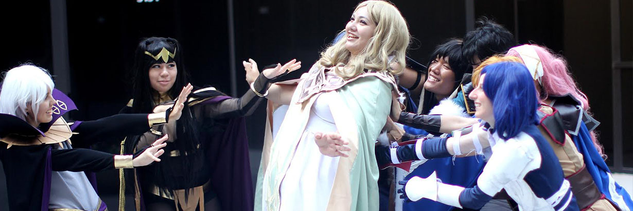 Cosplay at Pacific Media Expo 2016