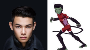 Ryan Potter appearing at PMX