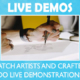 PMX hosts live demonstrations by artists and crafters