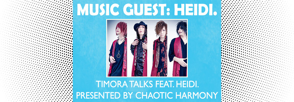 Timora Talks featuring heidi. at PMX