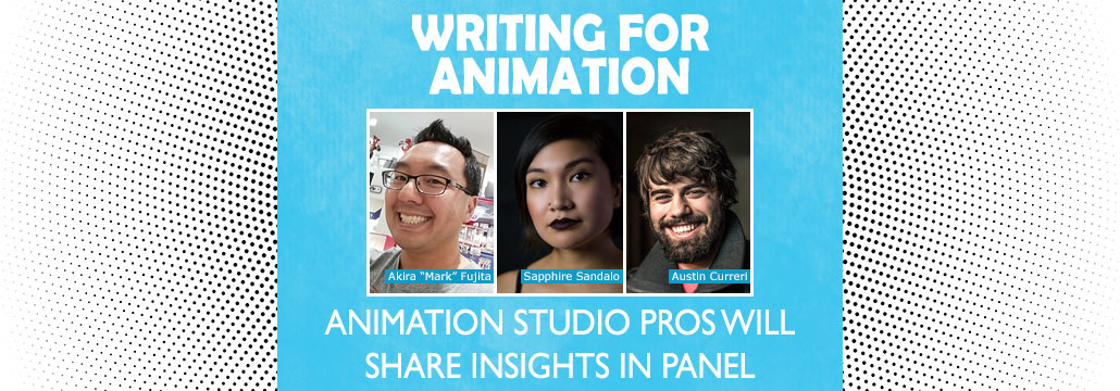 Writing for Animation: Animation Studio Pros Will Share Insights in Panel