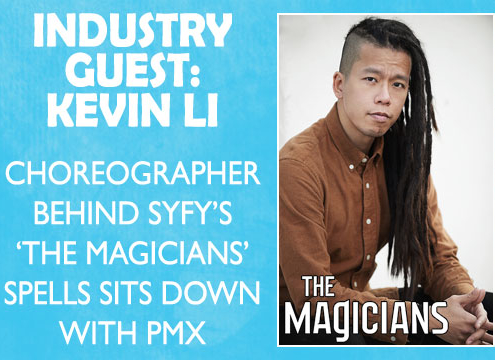 Kevin Li is appearing at PMX 2020.
