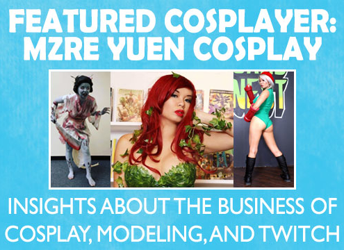 Mzre Yuen Cosplay is appearing at PMX 2020.
