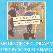 Anime Panel: It's Just Love: 25 Years of Gundam Wing