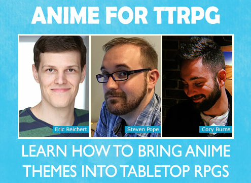 Gaming Panel: Anime For TTRPG